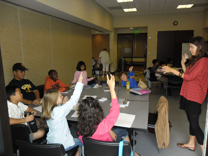 Creative writing camps for middle school students